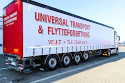 Universal Transport A/S - april 2019,