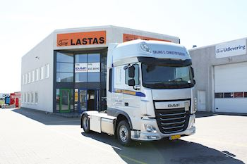 Lastas Trucks Danmark A/S leverer DAF XF 440 FT SSC AS-TRONIC til Erling E. Christoffersen