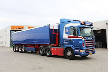 Tiptrailer til Hemmingsen Transport ApS
